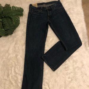 Hollister dark wash denim jeans